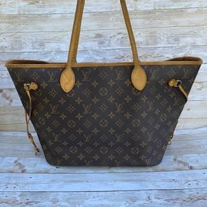 💯Auth LOUIS VUITTON Neverfull MM